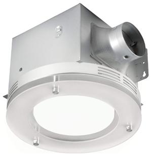 Tosca 711702bn bathroom fan with led light