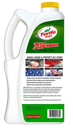 Turtle wax t79 zip wax liquid car wash
