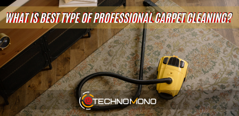 What Is Best Type Of Professional Carpet Cleaning