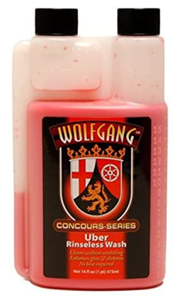 Wolfgang concours series rinse less wash