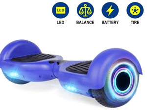 Yhr 65 hoverboard with bluetooth conectivity