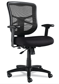 alera elusion mid back swivel desk chair