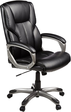 amazonbasics highback swivel executive office chair