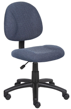 boss office products deluxe fabric desk chair