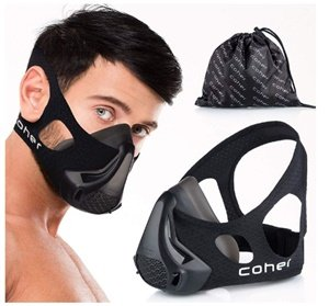 breathable workout training mask by cohre