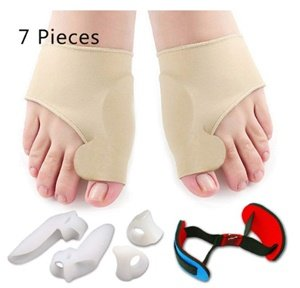 bunion corrector and bunion relief protector sleeves kit