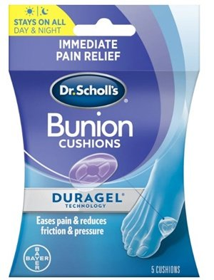 bunion cushion with duragel technology