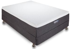 classic brands cool gel and ventilated memory foam 12 inch mattress