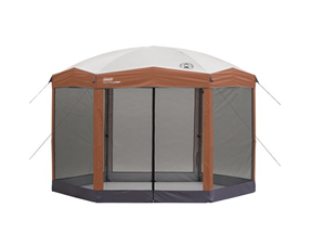 coleman screened canopy instant set up tent