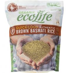 ecolife quick cook brown basmati rice