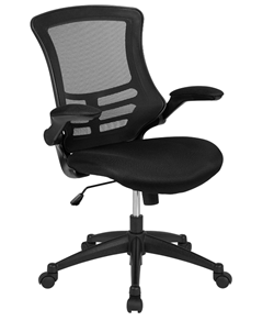 flash furniture midback mesh ergonomic office chair