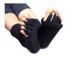 flesser toe separator socks for sports yoga