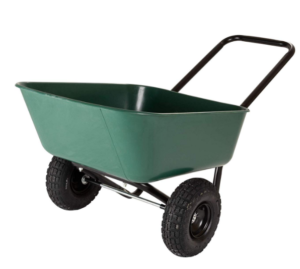garden star 70019 dual wheel garden cart