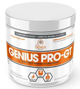 genius pro biotics green tea for weight loss