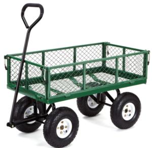 gorilla carts gor400 com steel garden cart