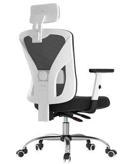 hbada ergonomic office desk chair lumbar support