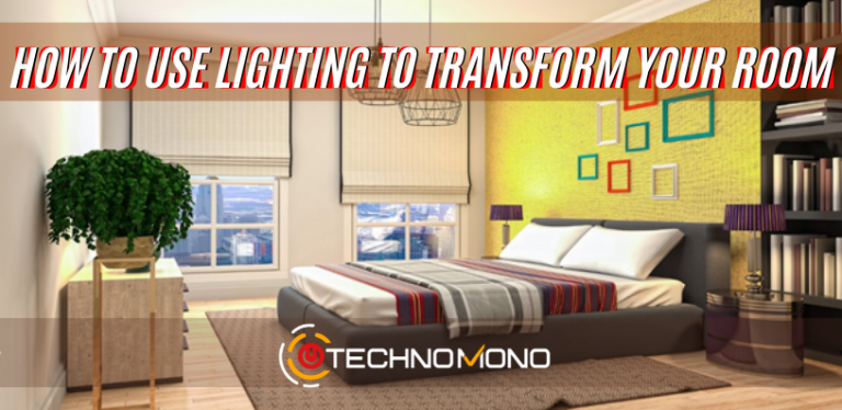 how to use lighting to transform your room