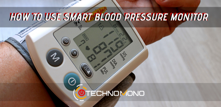 how to use smart blood pressure monitor