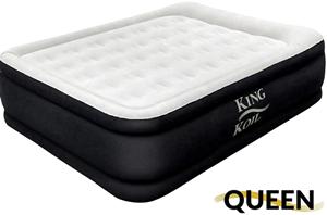 koil california king luxury raised air mattress