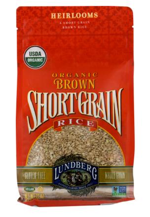 lundberg family farms brown rice short grains