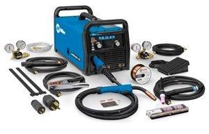 miller multimatic 215 multiprocess welder with tig kit