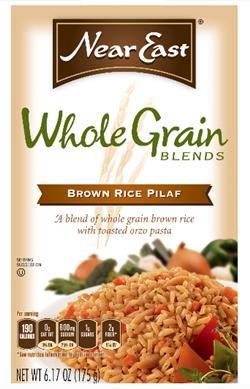 near east whole grain brown rice