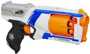 nerf n strike elite strongram toy blaster nerf gun