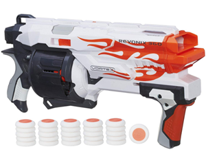 nerf vortex revonix 360 blaster gun