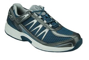 orthofeet sprint men's orthopedic shoe