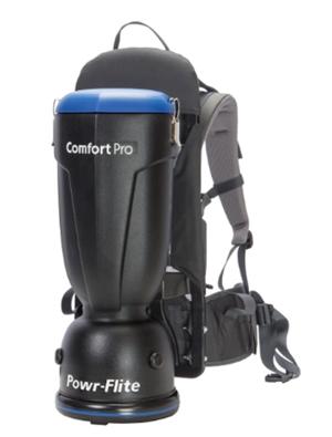 power flite bp6s comfort pro backpack vacuum