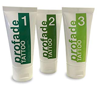profade tattoo removal cream