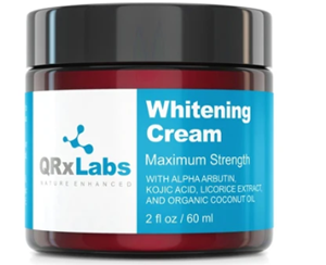 qrx labs skin whitening cream