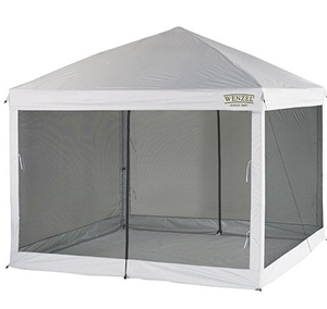 quest 12 feet recreational screened tent