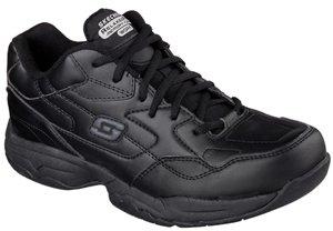 sketcher men's felton slip work shoe
