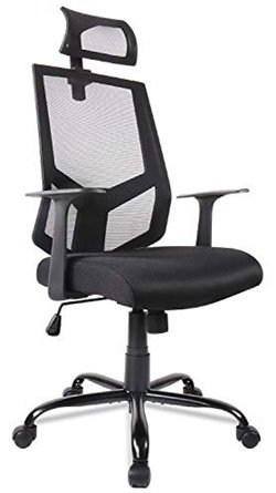 smugdesk ergonomic office chair with adjustable headrest