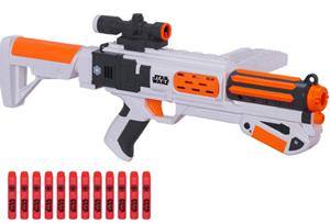 star wars episode vii stormtrooper deluxe blaster nerf gun
