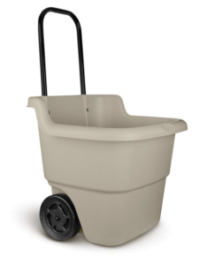 suncast 2 wheel resin multi purpose garden cart