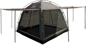 sunmart deluxe screen house for camping