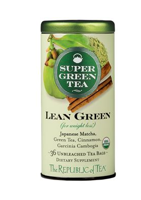 the republic of lean green super green tea