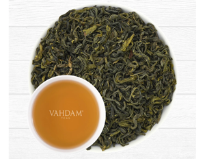 vahdam green tea leaves from himalayas