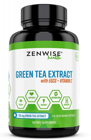 vegan green tea extracts with vitamin c