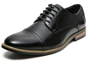zriang mens classic cap toe laceup oxford dress shoes